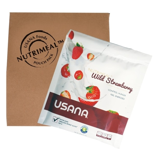 USANA Nutrimeal Wild Strawberry Bulk Pack